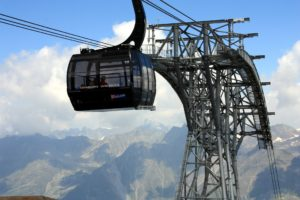 What is faster, skis or gondola?