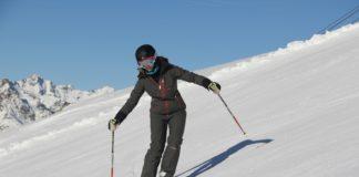 Alpines Fahrverhalten parallel skifahren