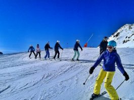 Ski-Technik Skikurs