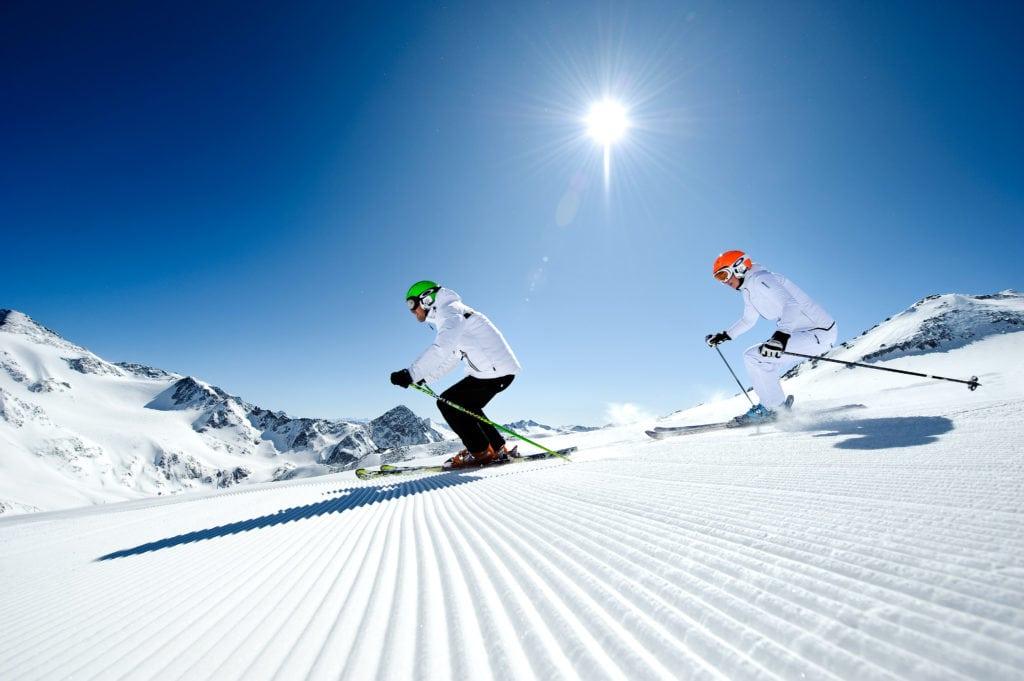 Skifahren am Stubaier Gletscher, Mogasi