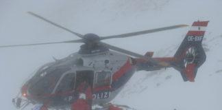 Lawineneinsatz Alpinpolizei