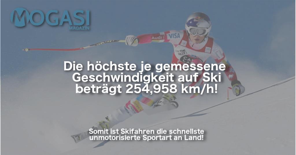 Mogasi, Weltrekord, Ski, Mogasifakten, Fakten