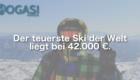 Teuerster Ski der Welt, Mogasi, Mogasifakten, Ski, Fakten
