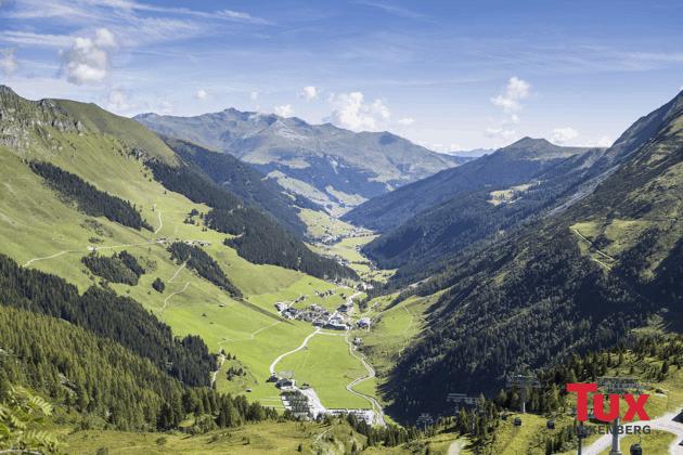 Tux-Finkenberg Panorama