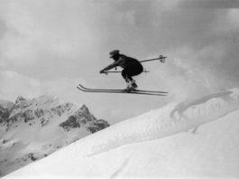 Skifahrer werden, Sprung ins Glück, Mogasi
