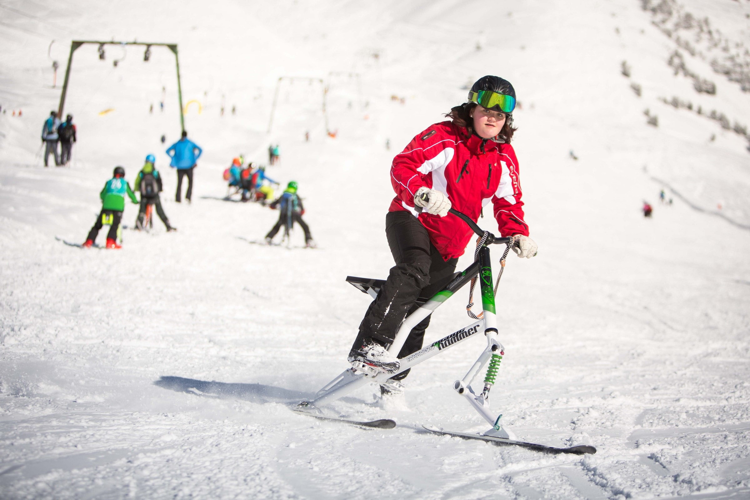 Barrierefreies Skifahren, Wiffzack, Mogasi, Alpengaudi