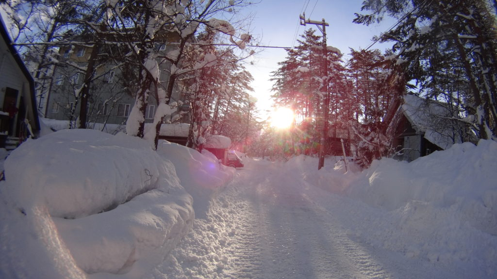 Hakuba, Skifahren in Japan, Mogasi