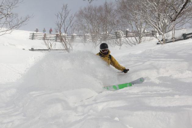 Skifahren in Japan, Japow, Tiefschnee, Blackcrows, Mogasi
