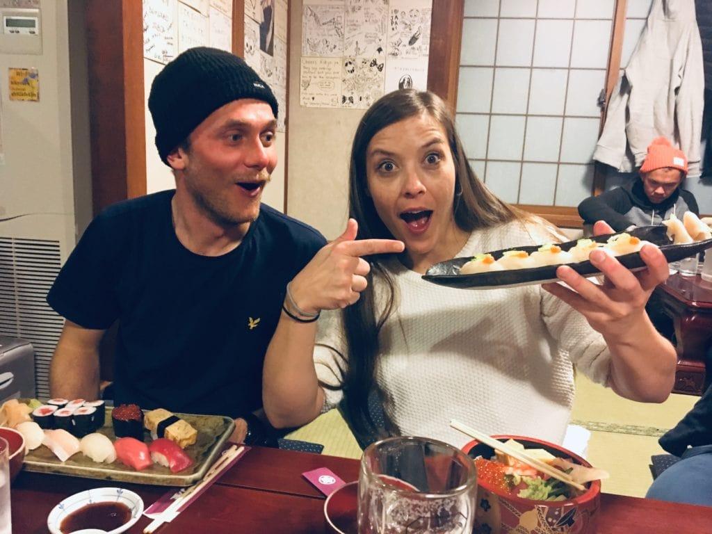 Kugelfisch, Skiurlaub in Japan, Essen, Mogasi