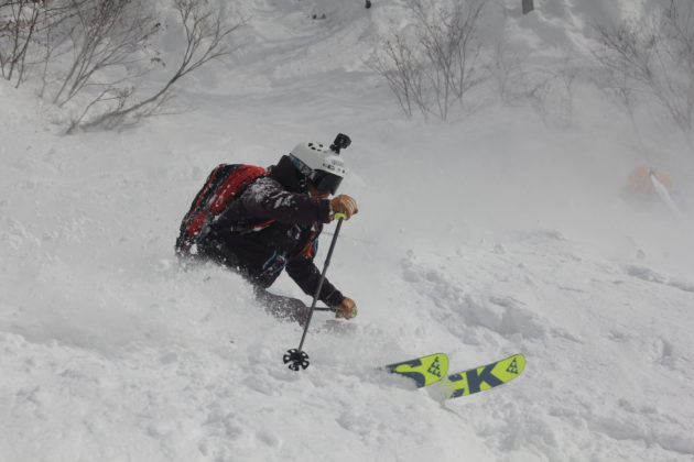 Skiurlaub in Japan, Skifahren in Japan, Tiefschnee, Blackcrows, Mogasi