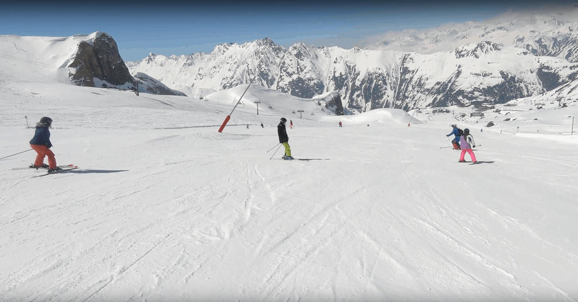 Skifahren mit Down Syndrom, Mogasi, Ischgl