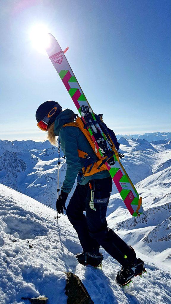 Ausrüstung Skitour Wildspitze, Mogasi