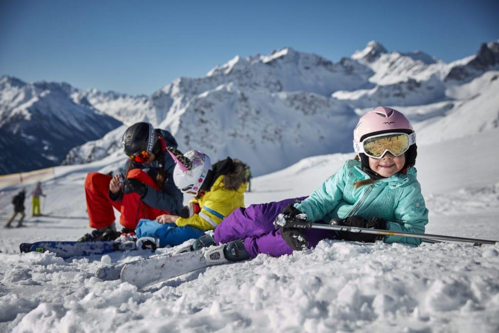Skiurlaub mit der Familie, Mogasi