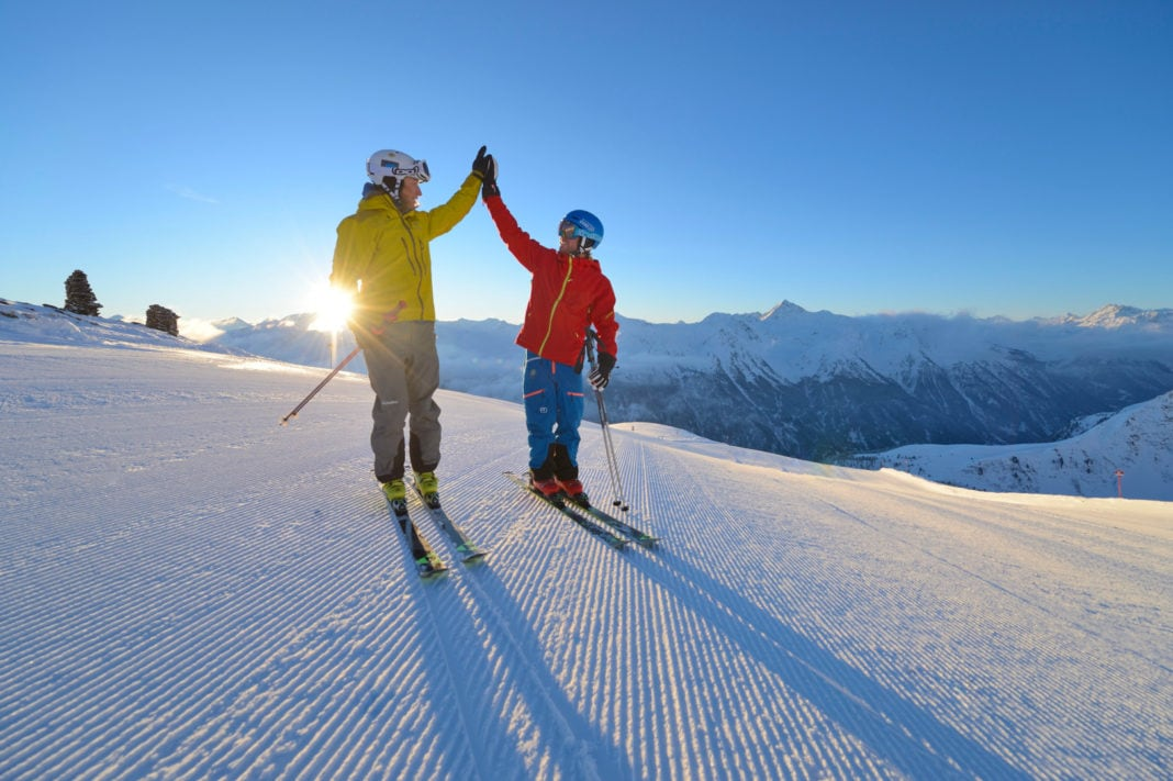 Skifahren, Mogasi