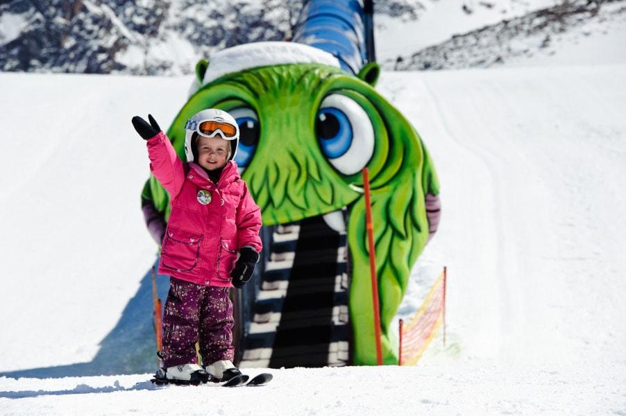 Kinder skifahren, Mogasi