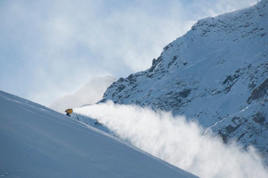 Technische Beschneiung, Winterurlaub in Tirol, Mogasi