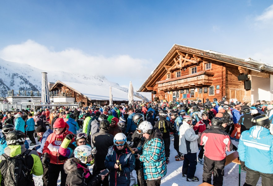 Aprés Ski in Ischgl, Paznauner Thaya, Mogasi