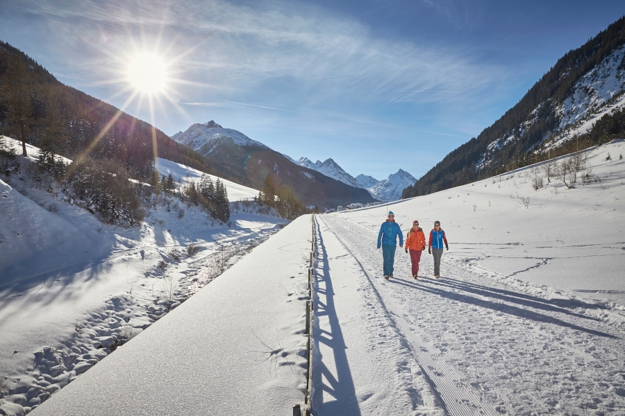Winterwandern Ischgl, Mogasi