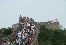 Chinesische Mauer, Chinesen, Mogasi