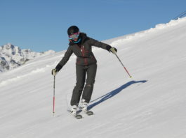 Parallel skiing