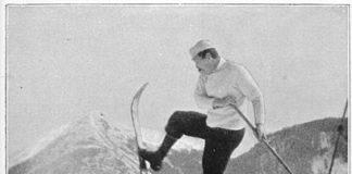 Old Freeheel skier