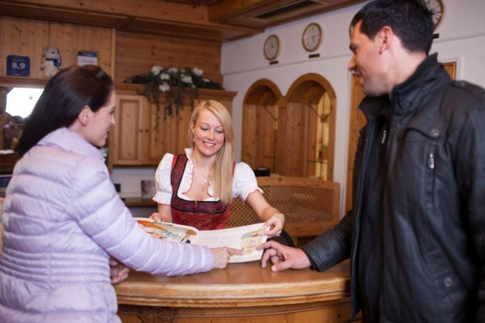 Anika Hohloch in Hotel Kindl