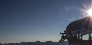 Ski resorts during summer, mogasi, pitztaler gletscher