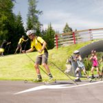 Skiroller, Casino Arena Seefeld, Mogasi