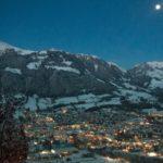 Kitzbühel, night, winter, mogasi