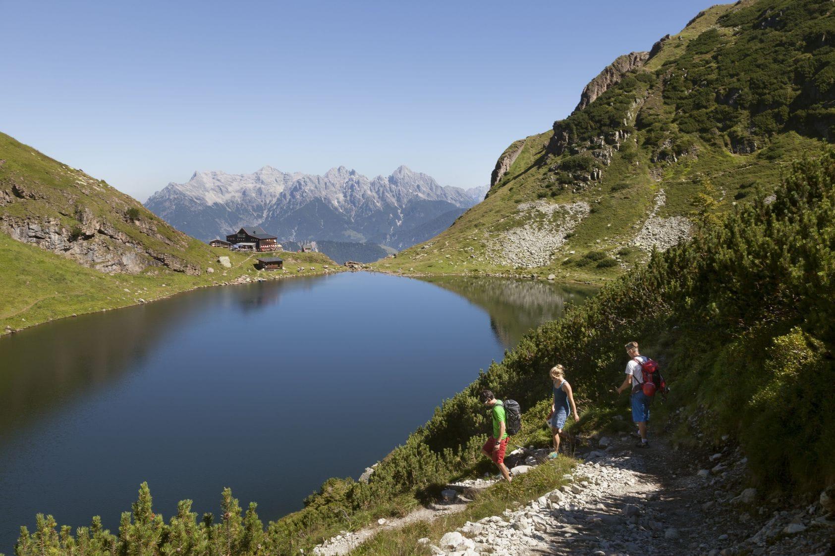 Fieberbrunn, Wildseeloderhaus, Berg-Urlaub