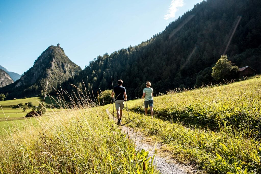 Wandern in Tirol West, Mogasi