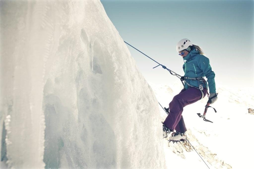 Eisklettern, Nina Gigele, Mogasi Magazin