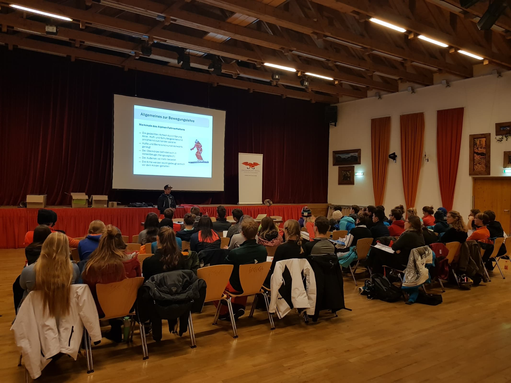Theory, ski school, ski instructor, Anwärter, Mogasi