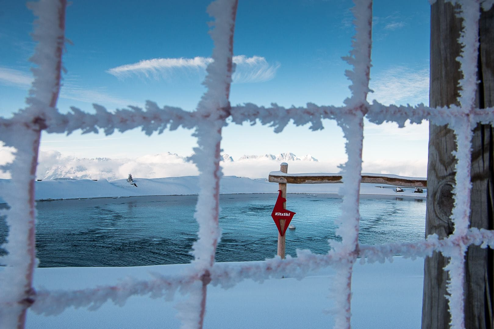 Kitzbühel, winter, frozen, mogasi