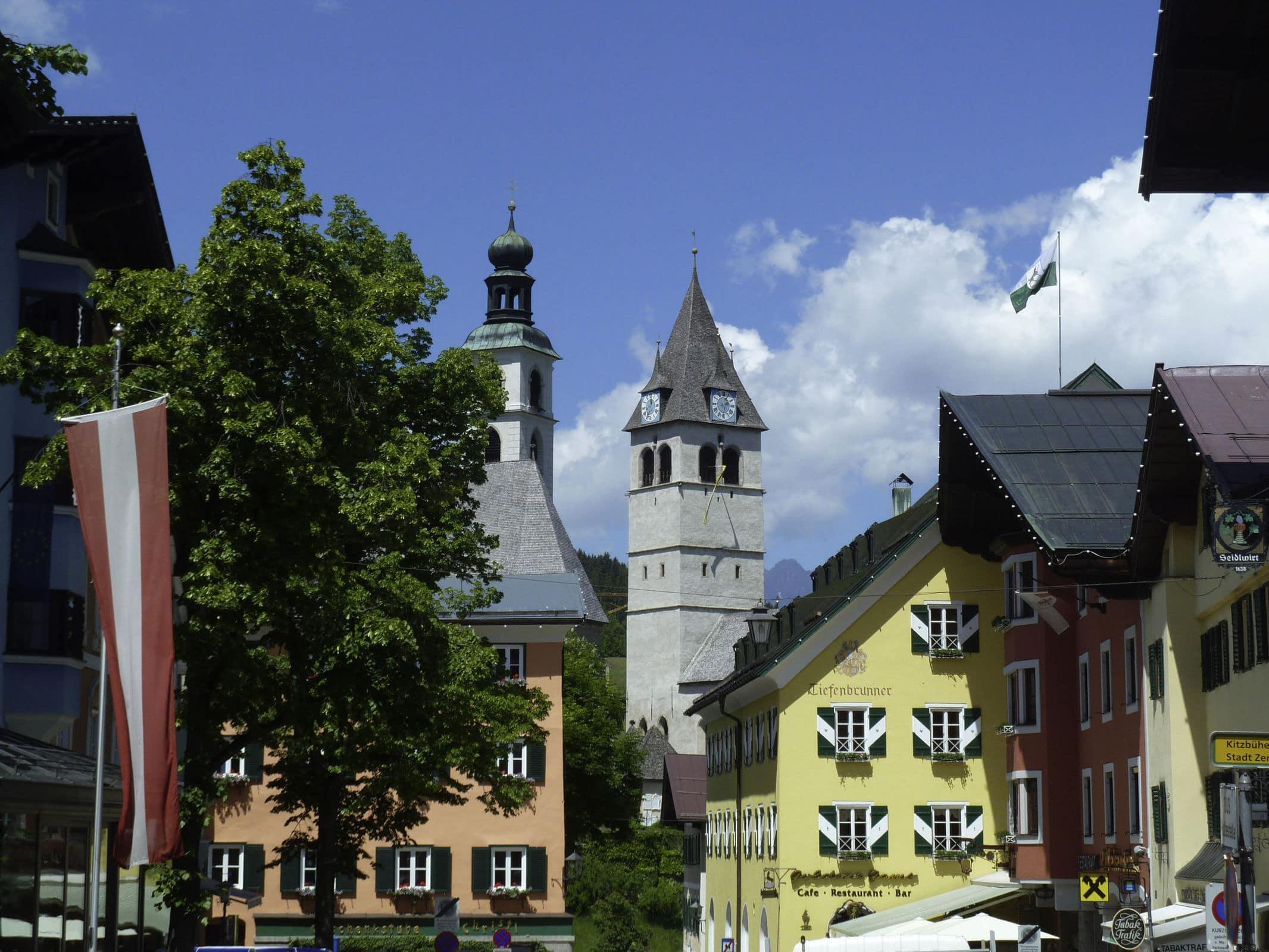 Kitzbühel, City, Mogasi